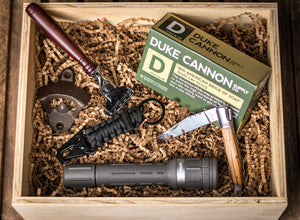 The Woodsman Gift Box from GroomCrate.