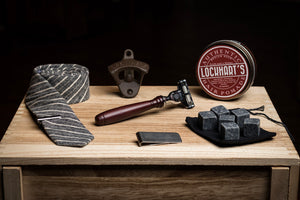 The Dapper Gift Box Contents by GroomCrate