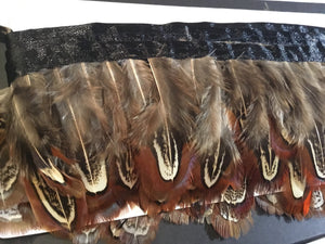 Brown Pheasant  Feathers