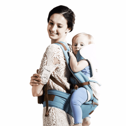 A Mother's Love Baby Carrier Sky Blue baby carrier