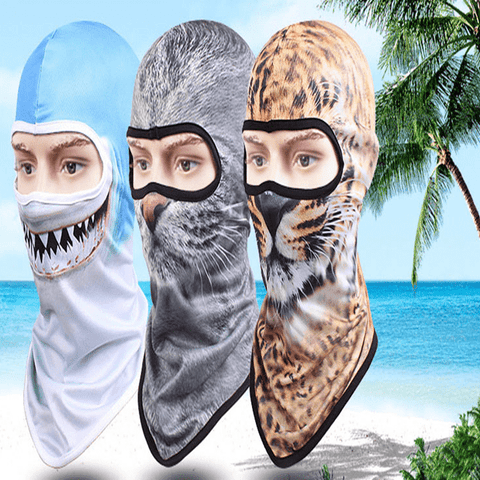Animal Print Balaclava Fierce Balaclava