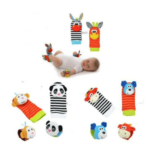 Baby Socks with Toy Rattles Heart Baby Socks with Toy Rattles