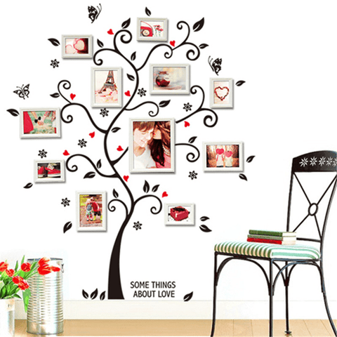 Build Your Family Tree Wall Sticker Wall Sticker