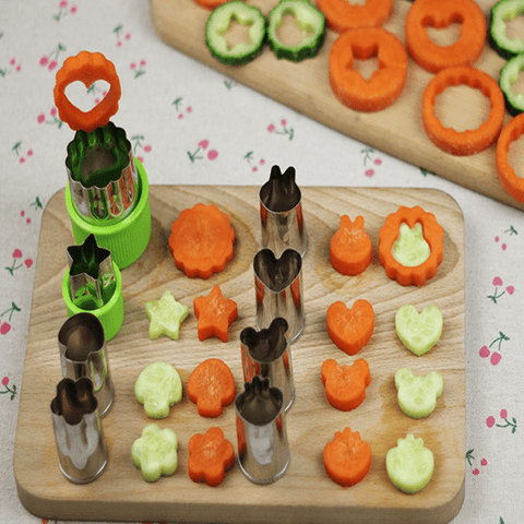 Fun with Veggies & Fruits Corer Set (8 Pcs) Style A corer
