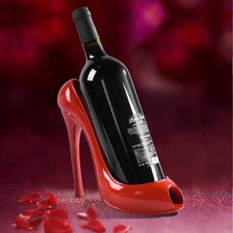 High Heel Wine Holder Black Wine Holder