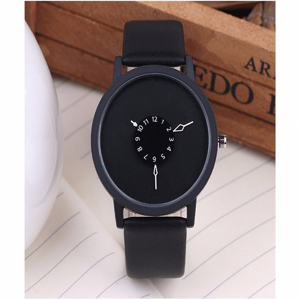 It's A Small World Quartz Watch Black Watch