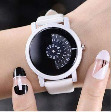 Life is One Sided Quartz Watch Black Watch