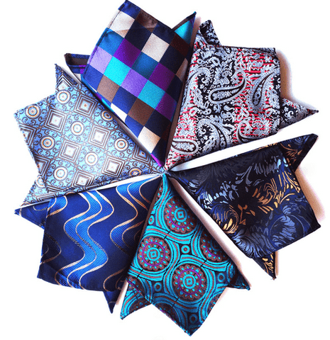 Men of Respect Pocket Squares Mercury handkerchief