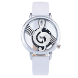 Musical Bliss Quartz Watch White & Silver watch