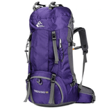 The Colossus Traveller's Backpack Purple backpack