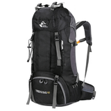 The Colossus Traveller's Backpack Black backpack