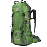 The Colossus Traveller's Backpack Green backpack