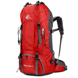 The Colossus Traveller's Backpack Red backpack