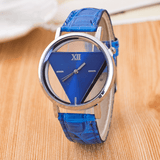 The Love Triangle Womens Watch Blue Watch