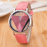 The Love Triangle Womens Watch Pink Watch