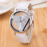 The Love Triangle Womens Watch White Watch
