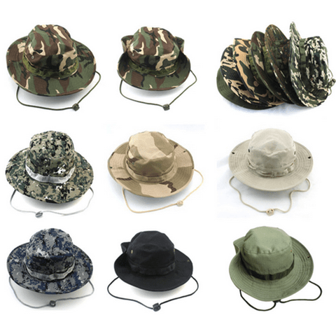 Wide Brim Camo Hat Style A Hat