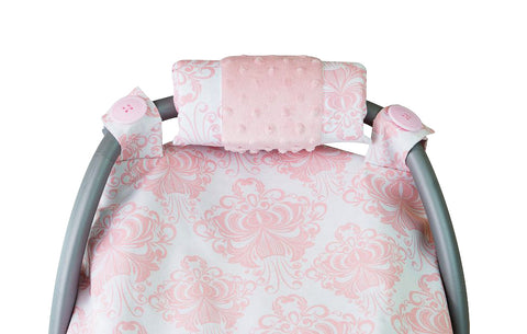 Carseat Sidekick™ , Angelina Minky Car Seat Canopy