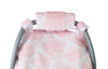 Image of Carseat Sidekick™ , Angelina Minky Car Seat Canopy