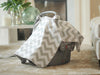 Image of Carseat Sidekick™ , Chevy Minky Car Seat Canopy