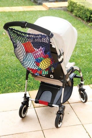 Dreambaby® Stroller Bags in Black with 2 Sidekicks