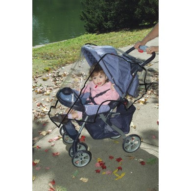 Dreambaby® Stroller Weather Shield in Black Trim