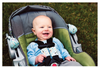 Image of Carseat Sidekick™ Blue Arrows With Baby