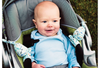 Image of Carseat Sidekick™ Blue Arrows Holds Straps