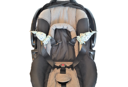 Carseat Sidekick™ Blue Arrows in Car Seat