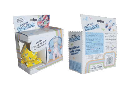 Carseat Sidekick™ Blue Arrows Box