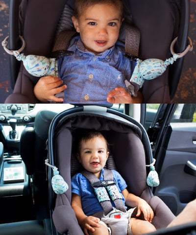 Carseat Sidekick™ , Carseat Sidekick™ - Holds Back Infant Car Seat Straps For A Stress Free Ride