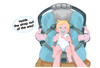Image of Carseat Sidekick™ Pink Leaves Cartoon