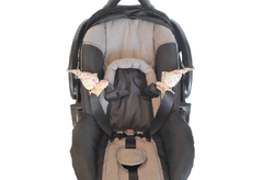 Carseat Sidekick™ Pink Leaves
