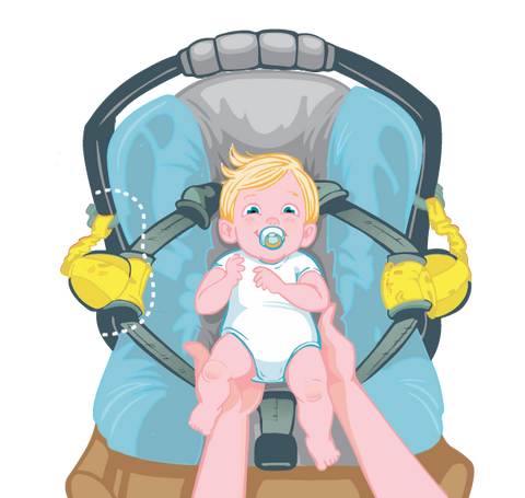 Carseat Sidekick™ , Carseat Sidekick™ - Bundle