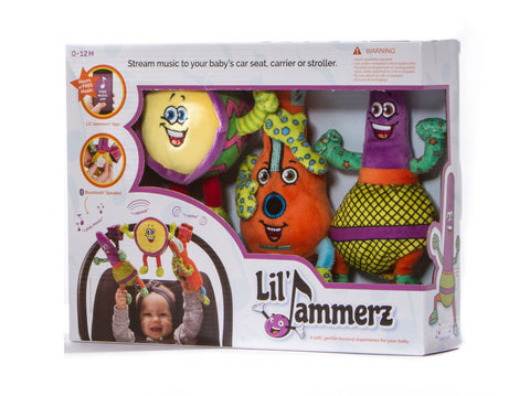 Lil' Jammerz™ Plush Bluetooth Music Set