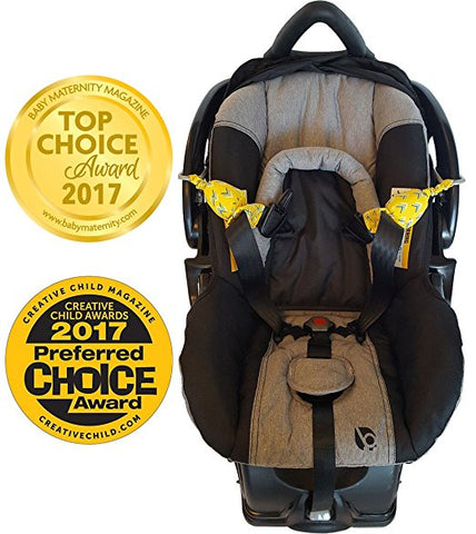 Carseat Sidekick Chevron Top Choice Maternity Magazine Infant Car Seat Accessory Holds Back Straps
