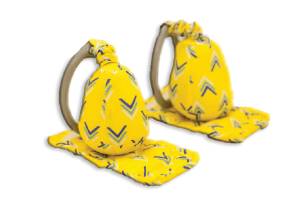 Carseat Sidekick™ Yellow Chevron Product Image