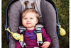Image of Carseat Sidekick™ Yellow Chevron With Baby