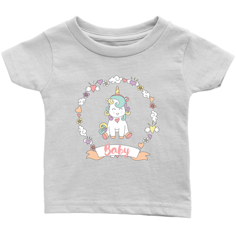 Baby Unicorn Onsie and Infant T-Shirt