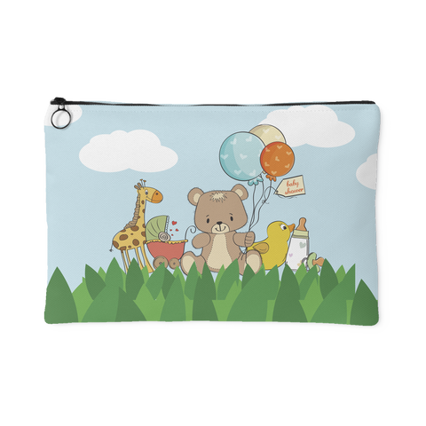 Bear & Balloon Baby Bag Organizer Pouch