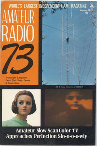 73 Amateur Radio Magazine 1970