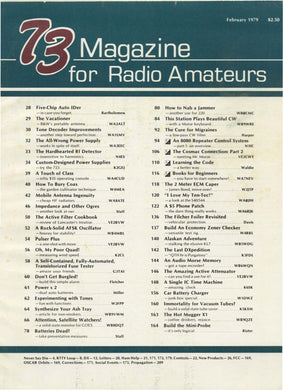 73 Amateur Radio Magazine 1979