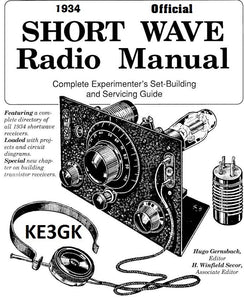 1934 Official Short Wave Manual