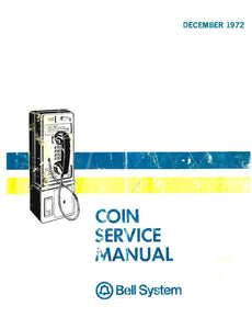 Bell System Coin Service Manual