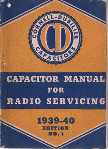 Capacitor Manual For Radio Servicing