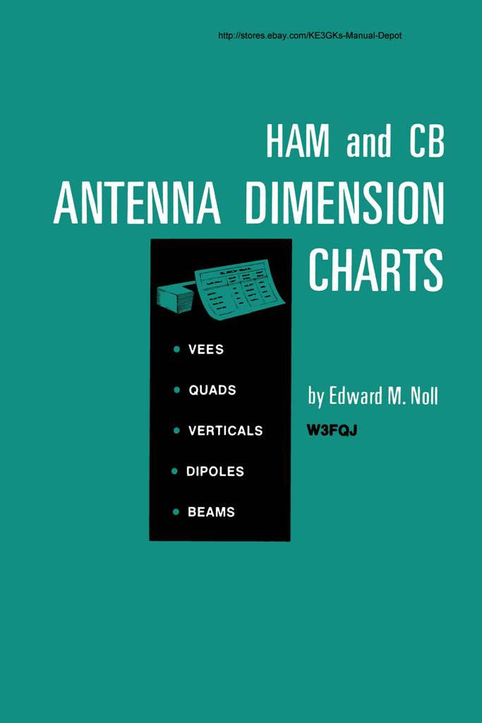 Ham and CB Antenna Dimension Charts