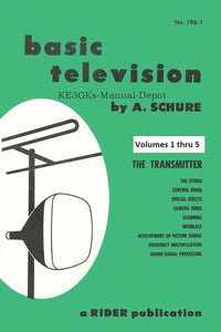 Rider's Basic Television Volumes 1 thru 5