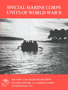 Special Marine Corp Units of World War II