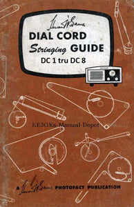 Sams Dial Cord Stringing Guide DC1 thru DC8