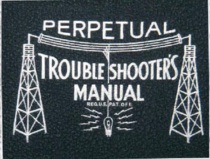 John F Riders Perpetual Troubleshooters Manual * Volume 4